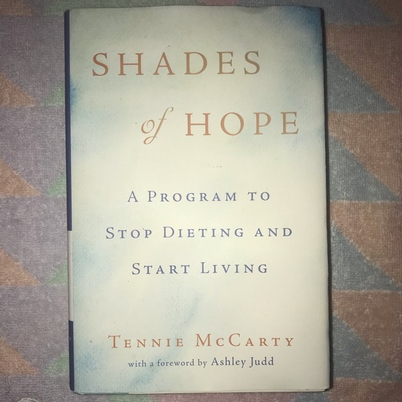 HARDCOVER BOOK Other - 💜 Shades of HOPE Hardcover BOOK By TENNIE McCARTY
